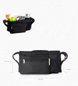 Multifunctional Baby Stroller Organiser Baby Pram Buggy Cart Bottle Hanging Basket Storage Bag Stroller Accessories