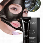 Blackhead Remover Mask Charcoal, CieKen Blackhead Peel Off Mask Kit,Purifying Peel-off Mask Black Mud Pore Removal Strip Mask For Face Nose Acne Treatment