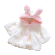 Baby Coat,Hunzed Baby Infant Girls Cute Autumn Winter Hooded Coat Cloak Jacket Thick Warm Clothes