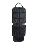 POTEY Car Seat Protector with Thickest Padding Car Seat Protectors and Kick Mat Backseat Organisers - Covers Great for Child and Baby Carseats, Dog Mats