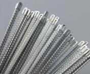 WellieSTR 4 Pcs Metal Spiral Boning Spiral Metal Boning for Corset 5mm x23cm