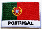 Portugal Portuguese Republic National Flag patch Ideal for adorning your jeans, hats, bags, jackets and shirts.