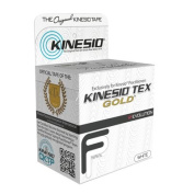Kinesio Tape, Tex Gold FP, 5.1cm x 55 yds, White, 6 Rolls