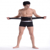 Low Back Support Brace/Belt Adjustable Straps, Breathable Mesh Panels-For The Waist Care Pain Relief