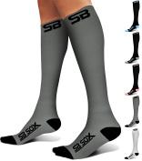 SB SOX Compression Socks (20-30mmHg) for Men & Women - BEST Stockings for Running, Medical, Athletic, Edoema, Diabetic, Varicose Veins, Travel, Pregnancy, Shin Splints, Nursing.