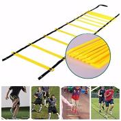 . 12 Rung Agility Ladder 7M Adjustable Speed Ladder for Football Speed Training Equipment