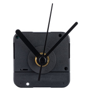 Mudder Clock Movement with Short Hands, 4/ 60cm Maximum Dial Thickness, 3/ 13cm Total Shaft Length
