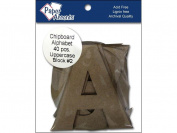 Accent Design Paper Accents ADPALPHA.5 Alpha 10cm Block#2 Upper Chip