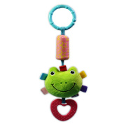 GUAngqi Frog Baby Rattles Newborn Bed Bells Chimes Windmill Bell Car Hanging Toy Infant Baby Toy 0-12 months Plush Toy Bed Soft Play ,frog