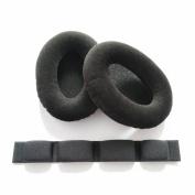 MiCity Replacement Ear Pad Head Headbeam Ear Cushion Ear Cups Ear Cover Earpads Repair Parts For Sennheiser HD545 HD565 HD580 HD600 HD650 Headphones