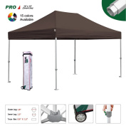 Eurmax Professional 10 x 15 Pop Up Canopy Wedding PartyTent Instant Outdoor Gazebo Pavilion Canopy BBQ Cater Events Aluminium frame Commercial grade Bonus Roller bag