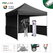 Eurmax Pro 10x10 Pop up Canopy Display Trade Show Fair Canopy Portable Booth Commercial Outdoor Party Gazebo Bonus
