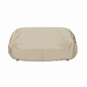 Smart Living 2D-PF52365 Two Dogs Bench Cover, Khaki, Double-Stitched and Weather Resistant