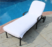 Lounge Chair Cover Luxury Turkish Cotton Side Pocket Option Eco-friendly