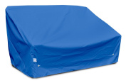 KoverRoos Weathermax 09950 Deep 2-Seat Sofa Cover, 150cm Width by 90cm Diameter by 80cm Height, Large Pacific Blue