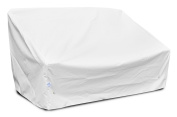 KoverRoos Weathermax 19950 Deep 2-Seat Sofa Cover, 150cm Width by 90cm Diameter by 80cm Height, Large White