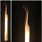 Rev Curve /Gold / tweezer pro volume /3d & 6d for eyelash extension by PINKLAB
