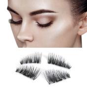 Aipark Ultra-thin 3D Magnetic Eye Lashes Reusable False Fake Magnet Eyelashes