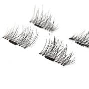 ICYCHEER Makeup 3D Magnetic False Eyelash Extension Magnet Eye Lashes Soft Hair Reusable