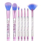 Highpot 7PCS Makeup Brush Foundation Eyebrow Eyeliner Blush Cosmetic Concealer Brushes With Liquid Handle