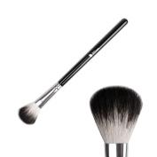 DUcare Highlighter Brush Blending Eyeshadow Contouring Blush Brush Goat Hair Makeup Eye Smudge Tool-Black
