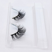 Zytree(TM) 1pairFalse Eyelashes Black Long Thick Natural Fake Eye Lashes Extension Fake Lashes For Building Makeup Beauty Tools Cosmetics