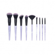 Professional makeup brushes Set Marble Pattern Premium Beauty brushes Kabuki Cosmetics Foundation Blending Blush Brushes Kit