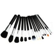 15Pcs Beauty Makeup Cosmetic Brush Set Foundation Lip Powder Eyeliner Eyeshadow Blush
