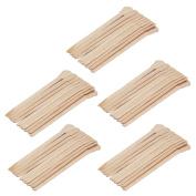 50Pcs Wooden Waxing Spatula Tongue Disposable Bamboo Sticks Hair Removal