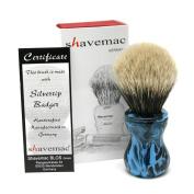 Shavemac 2 Band Silvertip Badger Shaving Brush TAE2