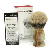 Shavemac Silvertip Badger Shaving Brush RJ2