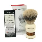 Shavemac Shaving Brush Colonia No.1 Silvertip D01