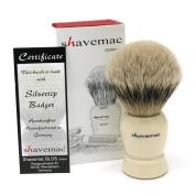Shavemac Silvertip Handmade Shaving Brush CI1