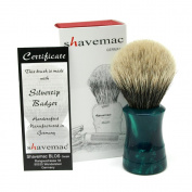 Shavemac 2 Band Silvertip Badger Shaving Brush TE2