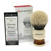 Shavemac Shaving Brush Germania Silvertip 2-Band
