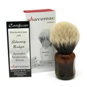 Shavemac 2 Band Silvertip Badger Shaving Brush CT3