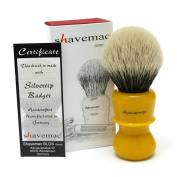 Shavemac 2 Band Silvertip Badger Shaving Brush RB3