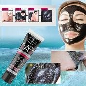 Black Mask, CieKen Black Mud Deep Cleansing Peel Off Mask, Facail Face Mask Remove Blackhead Facial Mask, Purifying Peel Face Mask