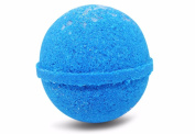 Bath Bomb Fizzle Crush Bath Bomb, Enjoy the Beach from your Tub, 180ml, Blue