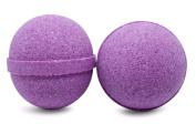 Bath Bomb Fizzle Berrylicious Bath Bomb, Vegan Bath Fizzy, Berry Lovers, 180ml, Purple