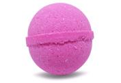 Bath Bomb Fizzle Pink Lady Bath Bomb, Sweet Pea, Kid Friendly Sweet Floral Smell, 180ml, Pink
