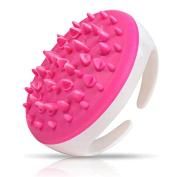 Massage Brush ,Hunzed Handheld Bath Shower Massage Brush Anti Cellulite Full Body Massage Brush Slimming Beauty