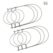 Silver Stainless Steel Wire Handles (Handle-Ease) for Mason, Ball, Canning Jars