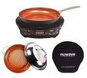 Nuwave Compact Precision Induction Cook Top w/ Fry pan & Grill Pan