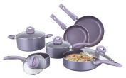 Culinary Edge CE20210 Cookware Set, Purple