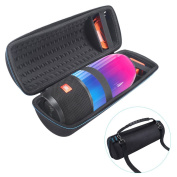 Carrying Case For Portable Splashproof Bluetooth Speaker JBL Pluse 3 - MASiKEN 2017 Design Hard Travel Carry Case For JBL Pulse 3 Wireless Bluetooth Speaker