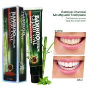 Activated Charcoal Teeth Whitening Toothpaste, Black Bamboo Charcoal Toothpaste Oral Hygiene Teeth Care