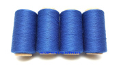 4 Tubes Spun Polyester Serger, Quilting & Sewing Thread 4 Tubes 1000 Yds. Each - MULTIPLE colours