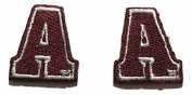2 Alabama A & M Bulldogs embroidered iron on patch Small patches for sleeves or hats