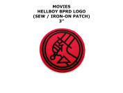 Bureau for Paranormal Research and Defence Hellboy Movie DIY Embroidered Sew or Iron-on Applique Patch Outlander Gear